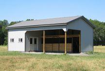 horse barns / by Lisa Coats
