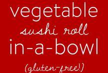 Food: Happy Belly Bowls (buddha bowl, dragon bowl, rice bowl)