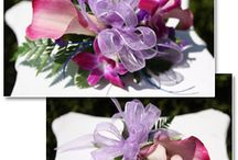 corsages, wrist corsages, boutonnieres / Prom flowers and wedding flowers, what ever the occasion is to wear beautiful flowers