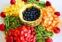 Decoração de Frutas comestíveis
