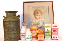 VINTAGE MILK AND DAIRY COLLECTIBLES