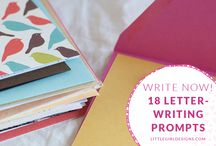 Snail Mail: Letter Writing Prompts / Also includes greeting card messages.
