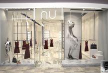 nu mağaza Emaar Square AVM / parametric  interior design cage architectural