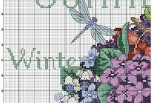 Kranz der Jahreszeiten x Stitch