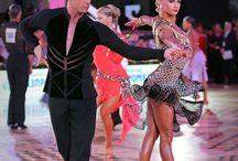 Sportive dancers