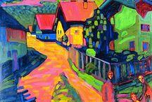 Wassily Kandinsky / by Socorro Matos