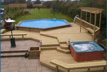 pool/hot tub/backyard stuff / by T Byd