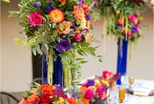 Katie's Wedding / Katie has chosen a vibrant and bold colour scheme!  Full of richness and life!