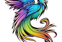 Tatouages d'oiseaux