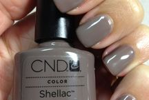 CND Shellac / Our favorite colors from CND Shellac; the perfect way to achieve a beautiful and long-lasting manicure or pedicure.