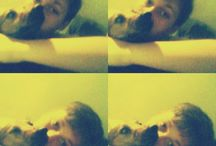 with my lovely dog :3*