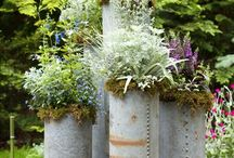 orti e giardini aromatici / ideas for vegetable gardens and aromatic gardens