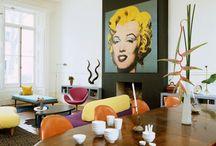 Pop art interiors