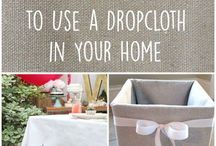 DIY Dropcloth