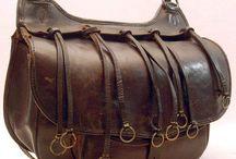 nyereg táskák