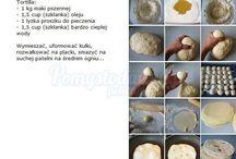 kuchnia z ziemniaków i pizza