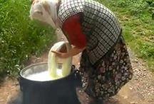 Peynir tereyağı kaymak