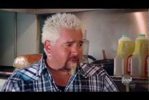 Diners, Drive Ins and Dives with Guy Fieri / I don't watch much television, but if I walk by and see Diners, Drive Ins and Dives with Guy Fieri is on, I'll sit down and enjoy! / by Phil Scheen
