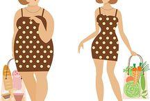 Диеты, снижение веса, похудание, фитнес, спорт