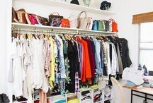 Wardrobe spaces