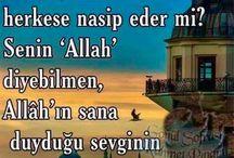 Allah (C.C)sevgisi