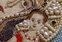 Icon Embroidary Иконы Вышивка