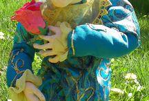 Влюбленный Май / Интерьерная кукла