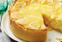 lemon dessert or bakking cake