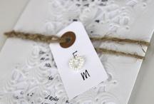 Bröllopsinbjudan/kort