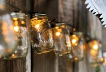 Lovely Lighting / Just like fireflies or stars in the sky, let a golden glow set the scene and light the night.