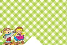 Kits gratuitos para festa infantil
