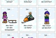 Schule - DAZ - Winter