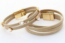 beige beige beige / fashion bracelet