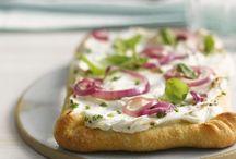 Pizza u. Quiche