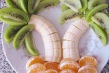 Sjov og kreativ frugt