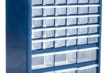 Storage Box / Storage box, mobile workshop & noolbox. Socket tool organization.  DIY. Tool box. Garage storage.