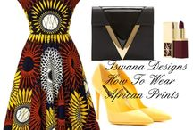 Tswana How To Wear Prints