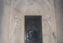 Bernardo Rossellino (1450): Annunciazione. Firenze, S. Egidio / Bernardo Rossellino (1450): Annunciazione. Firenze, S. Egidio