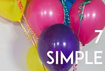 Birthdays, traditions and celebrations
