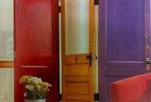Old door divider