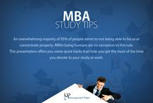 MBA Study Help / This presentation brings to you various tips that let you stay focus and concentrate that the vigorous program of MBA demands.