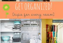 Getting Organized / Organize your life with these tips and hacks.