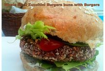Vegetarian and Vegan Burgers