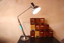 Mobilier industriel / Meubles - Chaises - Luminaires - Appliques - Accessoires (Portes manteaux - Casiers - Autres)