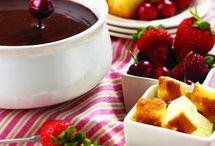 Fondue / cheese/ chocolate
