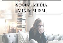 Minimaliseren - Sociale media