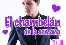 Chambelanes / Te presentamos nuestros chambelanes de la semana que hemos tenido en nuestro facebook  - http://on.fb.me/1GLHReC