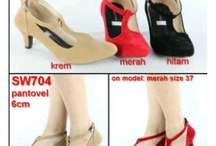 sepatu heels pantovel