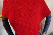 Knitting / Poncho