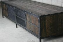 železo dřevo